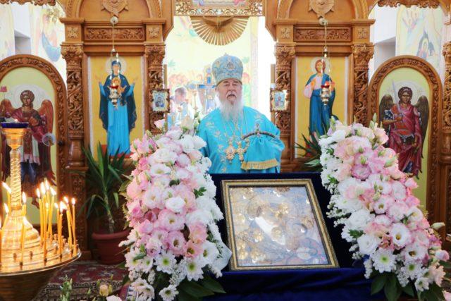 Архипастырский визит в храм Вифлеемской иконы Божией Матери АНД-района