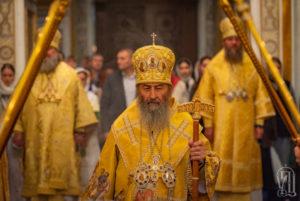 Накануне Дня интронизации Предстоятель возглавил всенощное бдение в Киево-Печерской Лавре