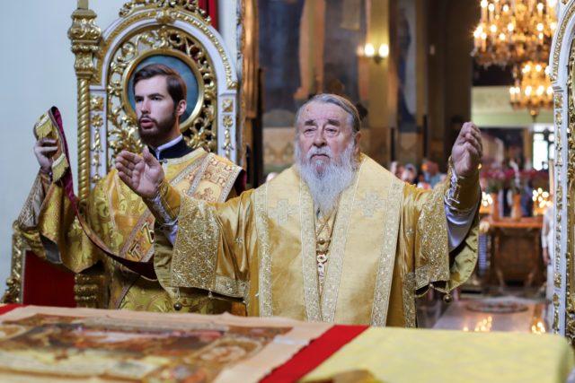 Архипастырское служение митрополита Иринея в Неделю 9-ю по Пятидесятнице