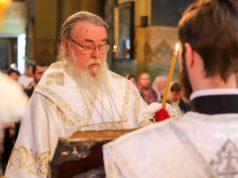 Накануне праздника Преображения Господня митрополит Ириней возглавил богослужение в Свято-Троицком кафедральном соборе г. Днепра