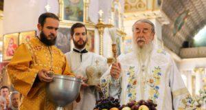 Митрополит Ириней возглавил престольное торжество Спасо-Преображенского кафедрального собора г. Днепра
