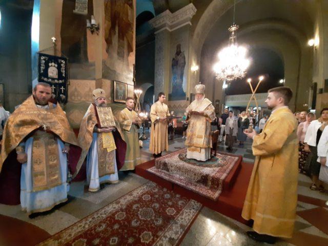 Архипастырское служение митрополита Иринея в Неделю 7-ю по Пятидесятнице