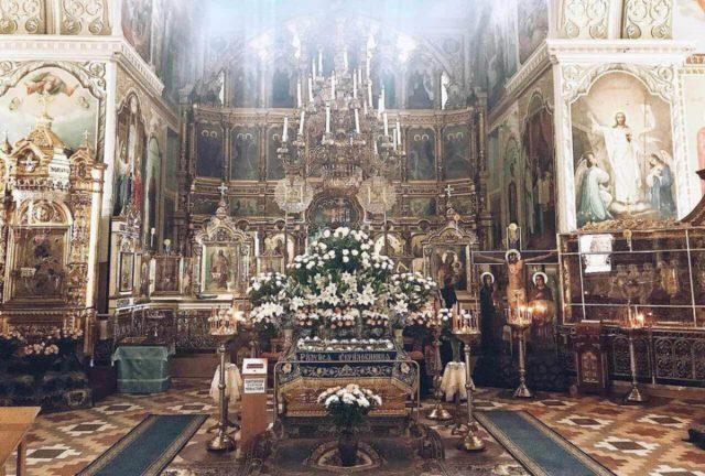 Праздник Успения Пресвятой Богородицы митрополит Ириней молитвенно отпраздновал в Корецком монастыре
