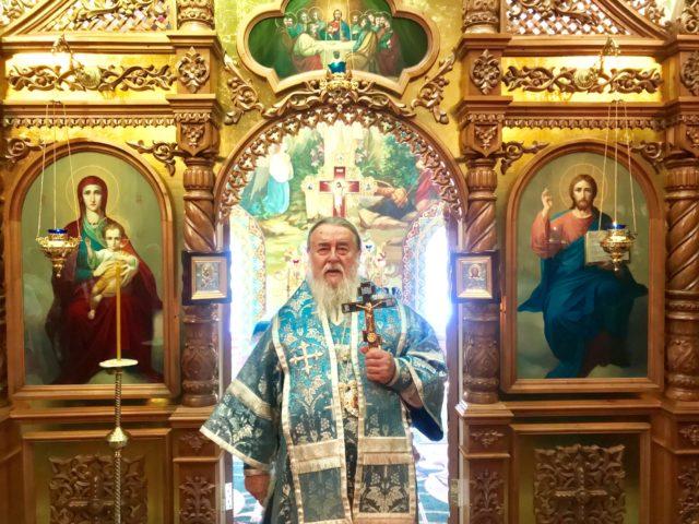 В 49-ю годовщину монашеского пострига митрополит Ириней молился в Корецкой обители