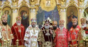 Днепропетровская епархия молитвенно отметила День тезоименитства управляющего епархией митрополита Иринея