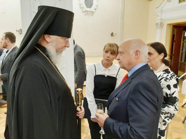 Архиепископ Евлогий принял участие в приеме по случаю государственного праздника Германии
