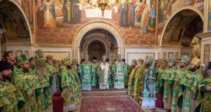 Епископ Петропавловский Андрей принял участие в праздновании Собора преподобных Ближних пещер в Киево-Печерской Лавре