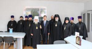 Иерархи Днепропетровской епархии посетили Новомосковский городской совет