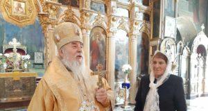 В Неделю 18-ю по Пятидесятнице митрополит Ириней совершил Литургию в Свято-Троицком кафедральном соборе г. Днепра