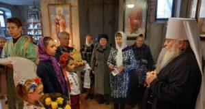 В день памяти прп. Илариона Великого митрополит Ириней посетил поселок городского типа Иларионово Синельниковского района