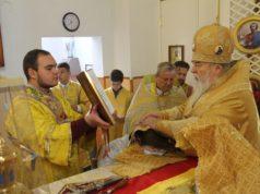 Архипастырский визит в Вознесенский храм районного центра Васильковка