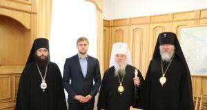 Епископат Днепропетровской епархии встретились с губернатором области