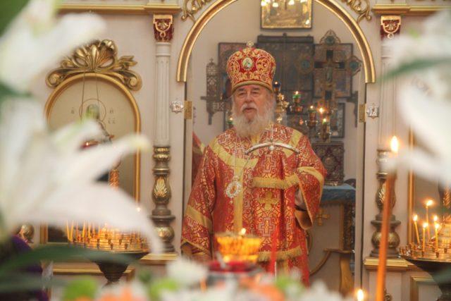 Митрополит Ириней посетил Свято-Успенскую общину с. Горяновка Днепровского района