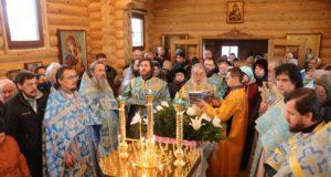 Первое архиерейское служение в общине храма иконы Божией Матери «Скоропослушница»