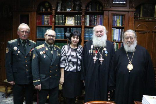 Митрополит Ириней награжден отличием «За служіння Богу і Україні»
