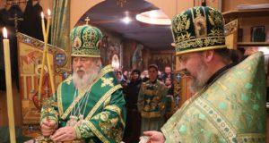 Престольный праздник храма преподобного Ильи Муромца Печерского