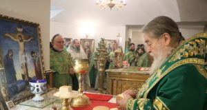 Митрополит Ириней посетил общину преподобного Серафима Саровского, чудотворца г. Днепра
