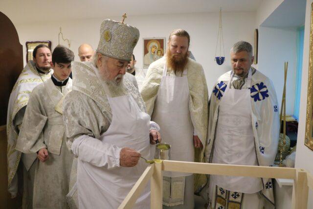 На Украине освящен новый храм при детском реабилитационном центре