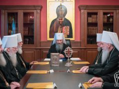 Состоялось заседание Священного Синода Украинской Православной Церкви (+журналы)