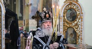 Митрополит Ириней совершил первую Литургию Преждеосвященных Даров в Великом посту 2019 года