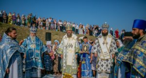 Митрополит Ириней принял участие в торжествах в Благовещенской обители на Ровенщине